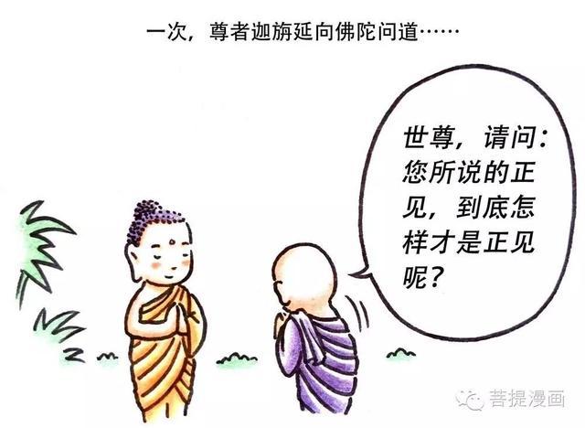 菩提漫畫/什麼是如來教導的正見呢?「阿含經漫畫故事」 - 每日頭條