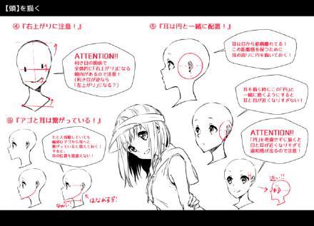 漫畫人體頭像的具體畫法 - 每日頭條