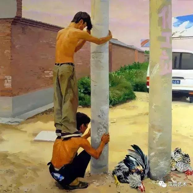 漢辰藝術 油畫賞析 劉小東:繪畫源於敏銳的感受(附新作) - 每日頭條