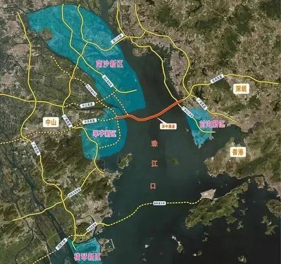 深中通道還不夠,廣州地鐵18號線將延伸至中山! - 每日頭條