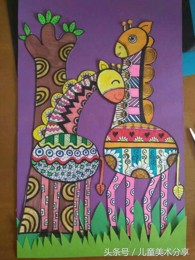 創意兒童美術作品秀 - 每日頭條