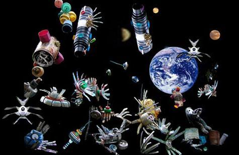 太空垃圾的種類五花八門竟然還有太空人的手套! - 每日頭條