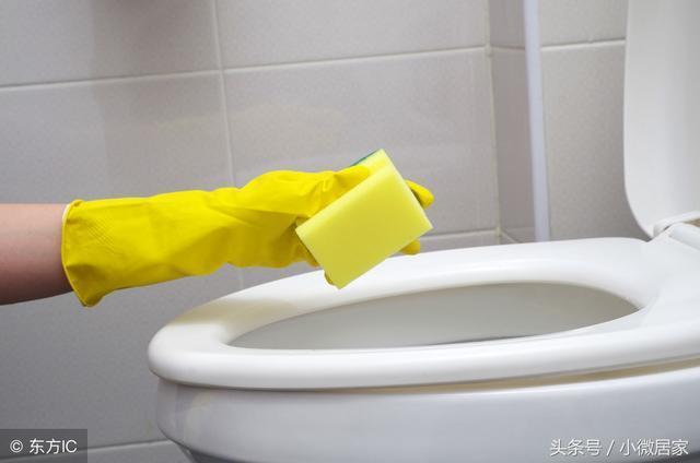我家從不買潔廁靈。馬桶清潔沒那麼麻煩。教你一招細菌黃漬全去除 - 每日頭條