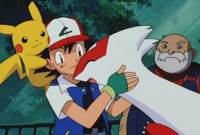 《精靈寶可夢》那些和小智很親密的神獸。一隻吻過他。一隻被收養 - 每日頭條