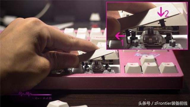 新手教程丨平衡桿大鍵位的拆裝、拔鍵器的使用 - 每日頭條