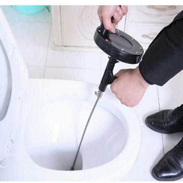 下水道堵了別用熱水沖!一根吸管瞬間疏通。乾淨不髒手 - 每日頭條