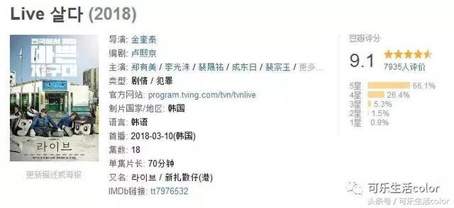 首集即飆9.3高分,《Live》又喪又勵志!據聞係今年最佳韓劇? - 每日頭條