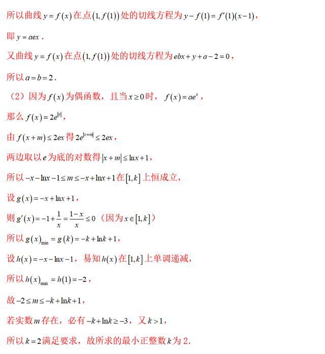 函數單調性/導數/極值問題綜合訓練,考前知識總結(含答案解析) - 每日頭條