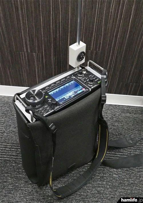 15歲高中生挺牛逼啊丨設計ICOM7300短波業餘電臺可攜式背包系統 - 每日頭條