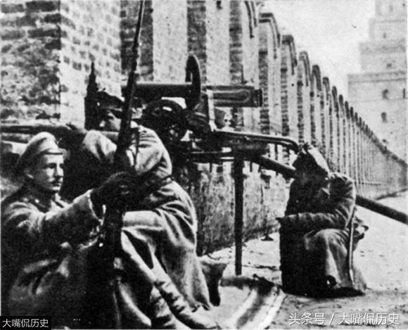 罕見老照片:100年前俄國十月革命現場實拍老照片 - 每日頭條