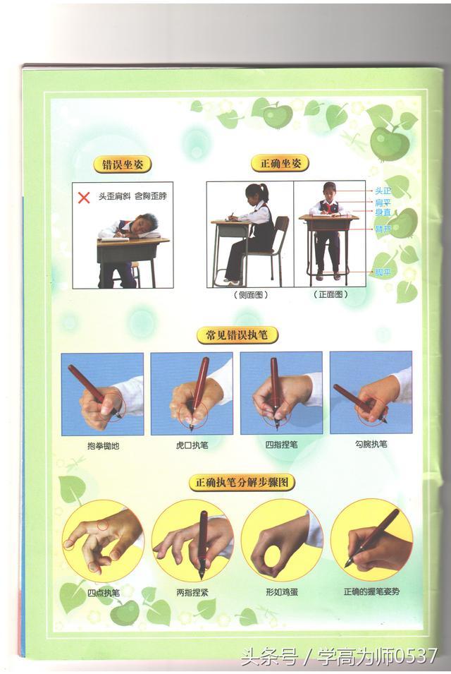 小學一年級上學期漢字書寫指導 系統、全面、細緻、權威 - 每日頭條