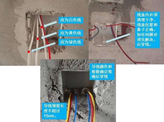 圖解家裝暗敷管線,線管內穿電線具體操作要求 - 每日頭條