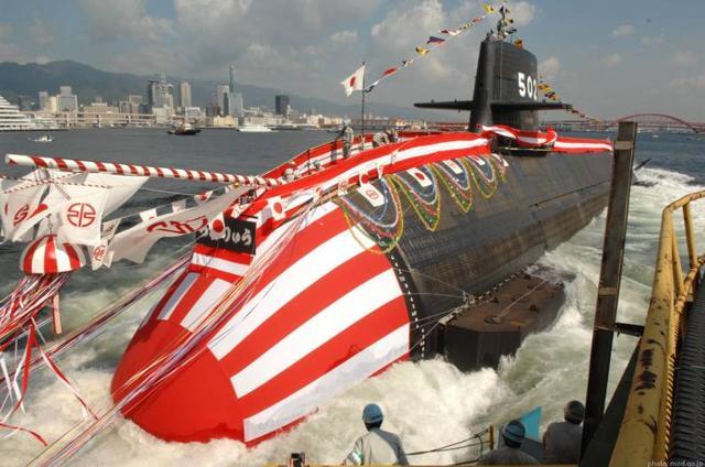 日本的蒼龍級潛艇 是世界上排水量最大的常規動力攻擊潛艇 - 每日頭條