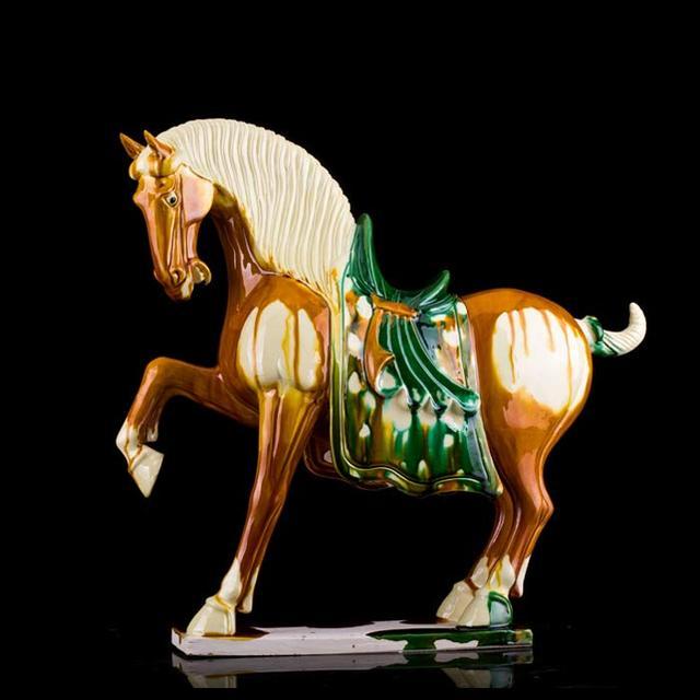 唐三彩馬價值過百萬 - 每日頭條