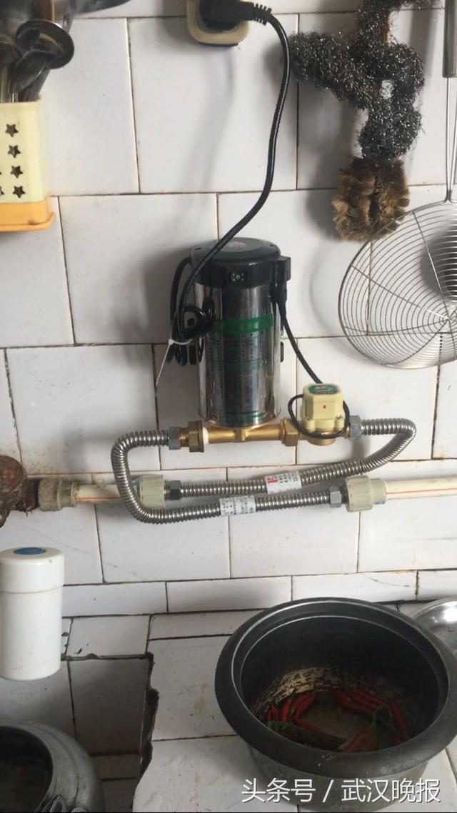 水壓不足,居民家中洗衣機,熱水器成擺設!供水單位正修建加壓泵站 - 每日頭條