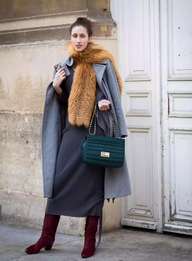 大衣+圍巾,才是冬天最顯氣質的搭配! - 每日頭條