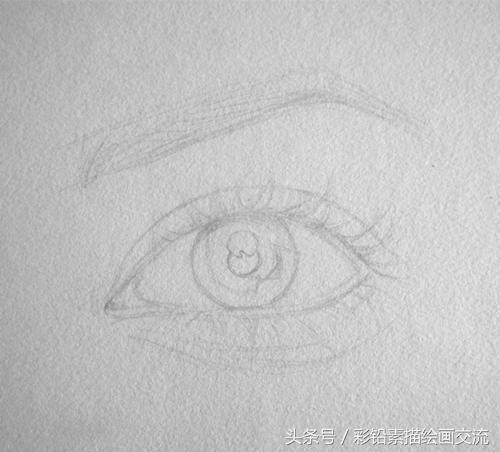 素描眼睛怎麼畫?素描眼睛畫法步驟 - 每日頭條