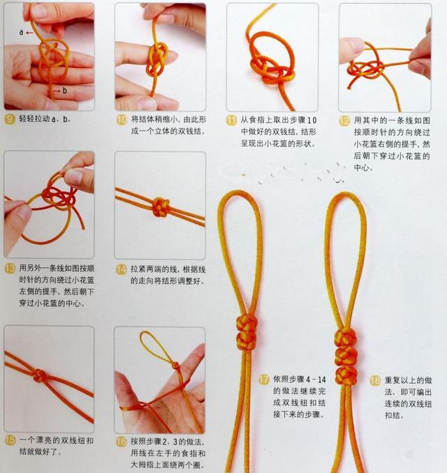 紅繩手鍊編法圖解 - 每日頭條