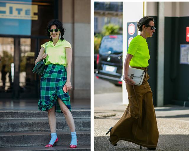 螢光綠穿搭,亞洲人的專屬「顯擺」色 - 每日頭條