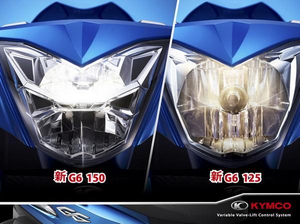 首臺可變氣門引擎踏板+LED大燈:新款光陽G6現身 ! - 每日頭條