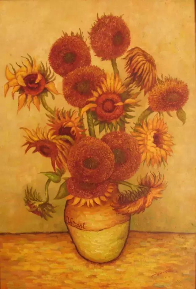 梵谷《向日葵》的創意周邊 - 每日頭條