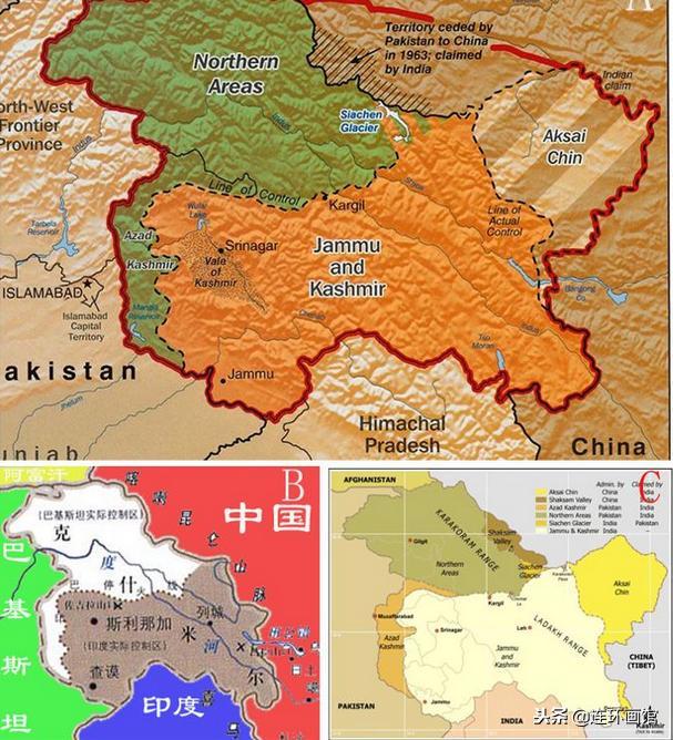 巴鐵和中國談判把這塊地劃給中國。印度氣紅眼聲嘶力竭那是我的 - 每日頭條