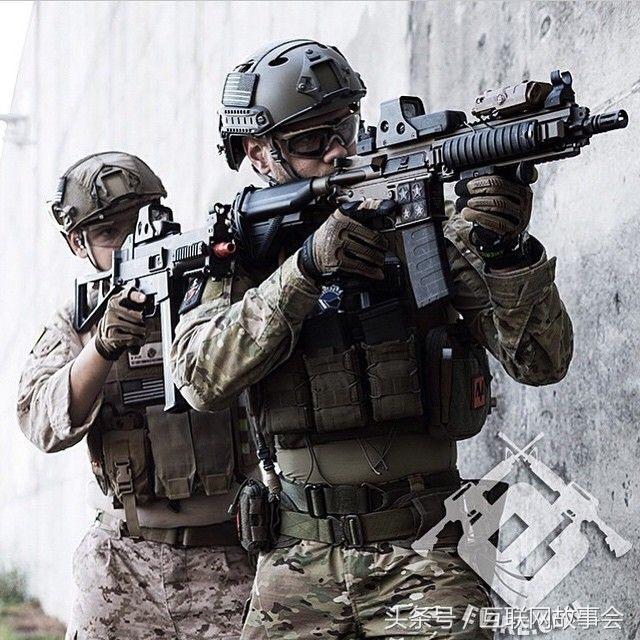 槍火26。德國HK公司HK416突擊步槍。很多特種兵自費購買 - 每日頭條