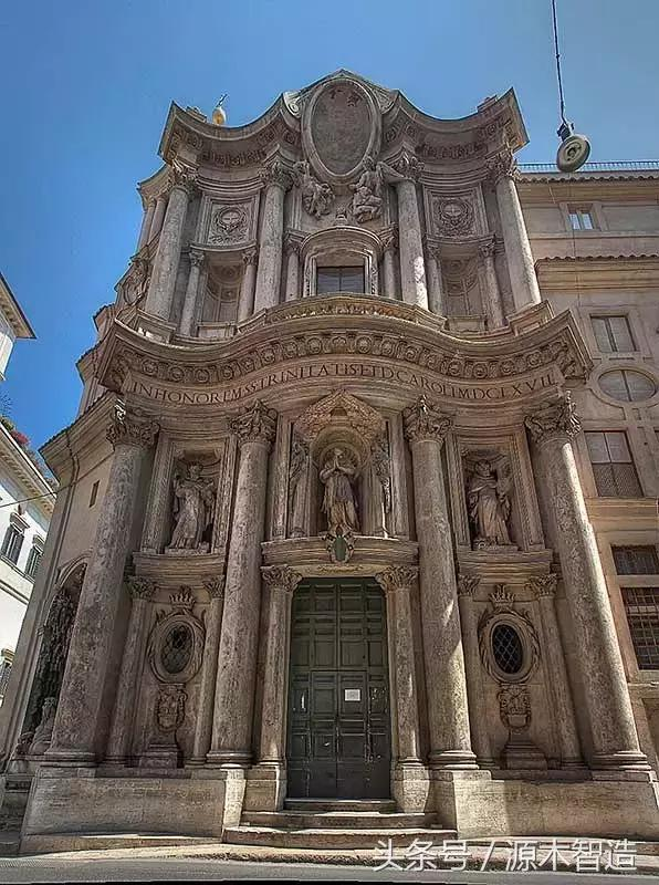震撼人心的歐洲建築(中)——羅曼式、哥德式、巴洛克和洛可可 - 每日頭條