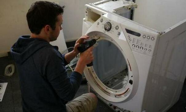 洗衣機壞了不要扔。只用幾十塊錢就可以讓它煥然一新。大有用途 - 每日頭條
