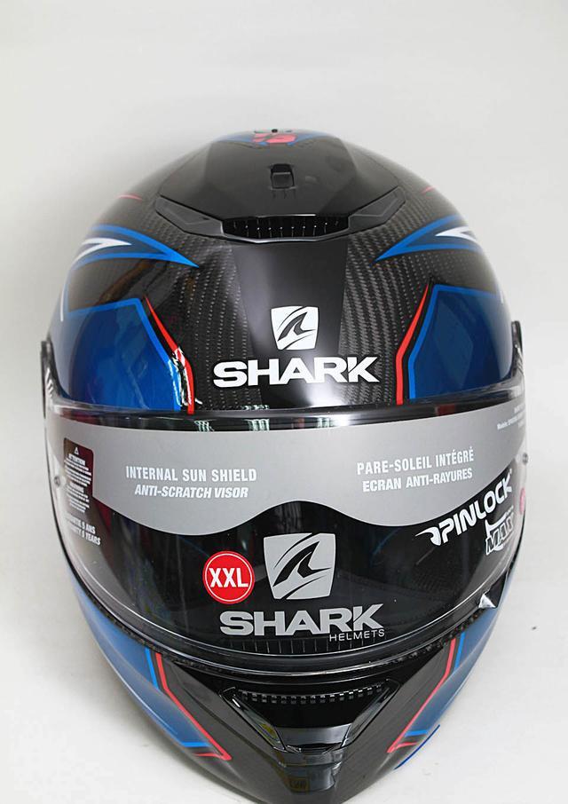 Shark Spartan Carbon標準版及碳纖維新款減噪雙尾翼全面頭盔 - 每日頭條