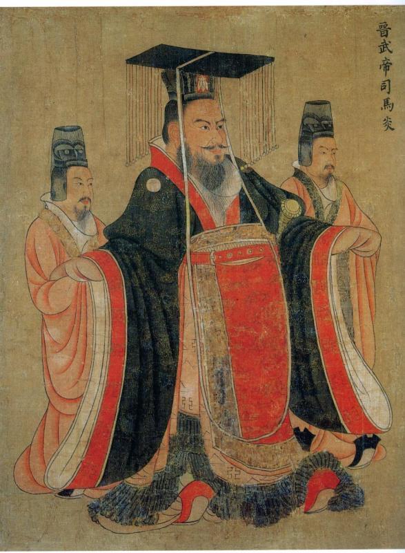 唐·閻立本《歷代帝王圖卷》欣賞 - 每日頭條