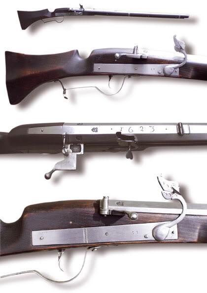 古斯塔夫二世改良的1630年式蘇爾火繩槍 - 每日頭條