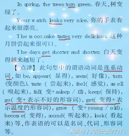 初中英語。語法學習的基礎——簡單句詳細解讀 - 每日頭條