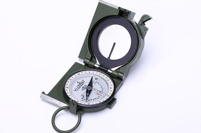 97式軍用指北針使用說明詳細篇-軍迷戶外探險者收藏! - 每日頭條