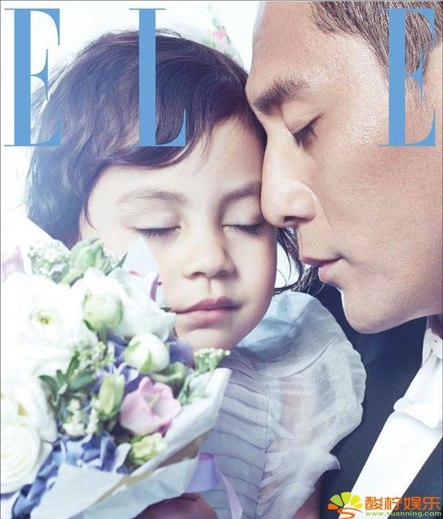 劉燁攜混血愛女登雜誌封面 復古裝扮靈氣十足 - 每日頭條