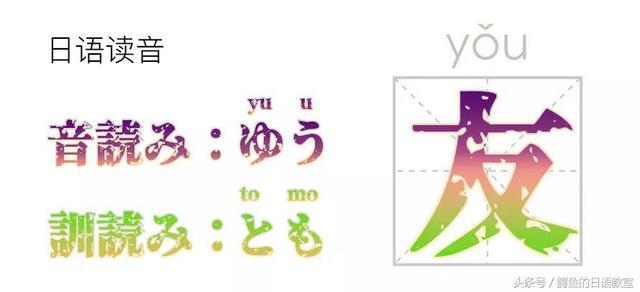 為什麼日文里漢字會有兩種讀音?淺析音讀和訓讀 - 每日頭條