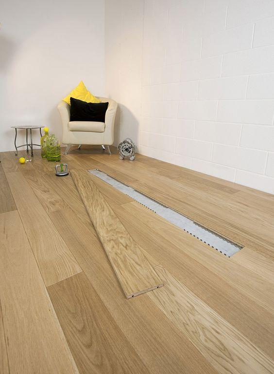 木地板這樣鋪。哪還用工人。背面做拉槽嵌卡條。鋪完一屋輕輕鬆鬆 - 每日頭條