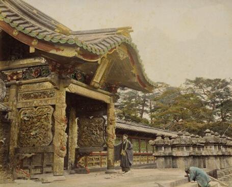 日本的德川幕府舊址舊照 - 每日頭條