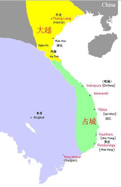 今屬越南的古國占城是怎樣消失的 - 每日頭條