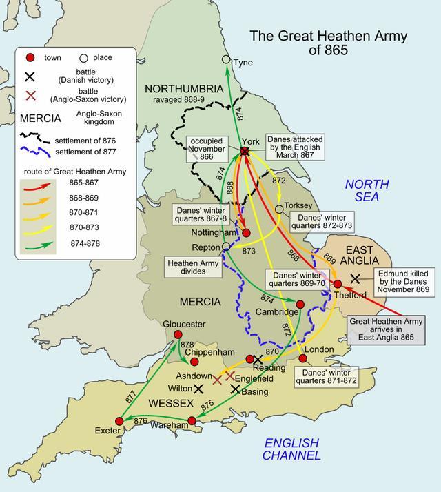 二戰抵抗納粹一天就投降的丹麥人竟曾占領過英格蘭 - 每日頭條