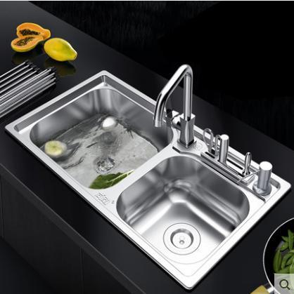 廚房水槽要選好。老是水槽已經過時。現在流行的不鏽鋼水槽才經久耐用 - 每日頭條