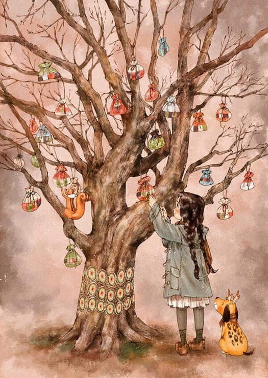 森林女孩日記·補遺——她。知道遠方有一處世外桃源 - 每日頭條