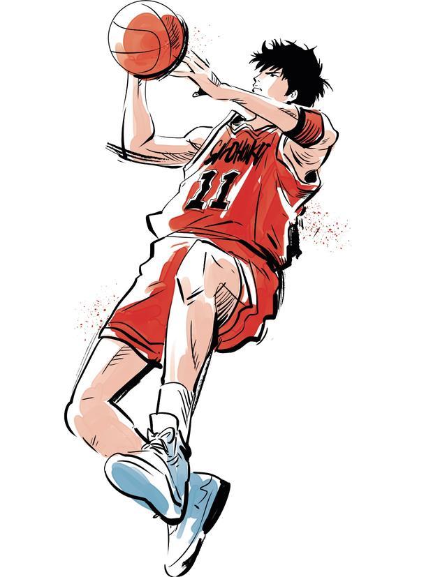 原來灌籃高手裡安西教練穿的是adidas?流川楓五又是什麼? - 每日頭條