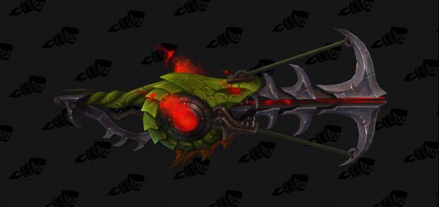 魔獸世界7.2鎖甲神器隱藏外觀 射擊獵的弓像什麼呢? - 每日頭條