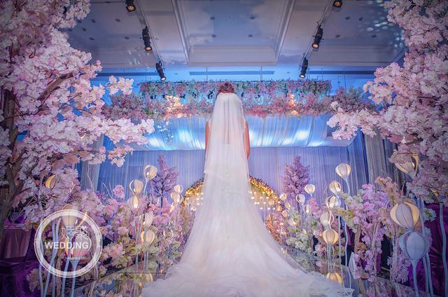 櫻花樹下 月光氤氳 ~主題婚禮之氤氳月光 - 每日頭條