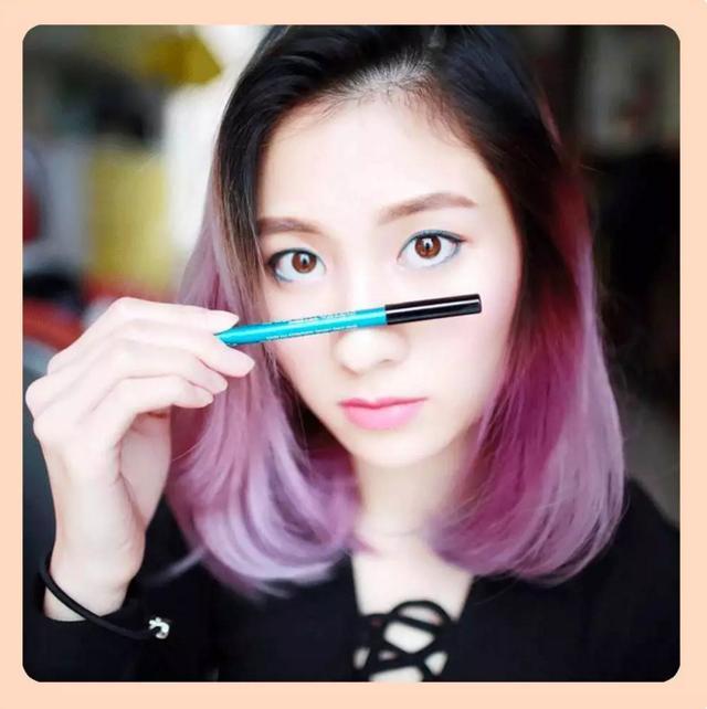 你的眼線筆只有黑色或棕色嗎?這個牌子20個顏色隨你玩! - 每日頭條