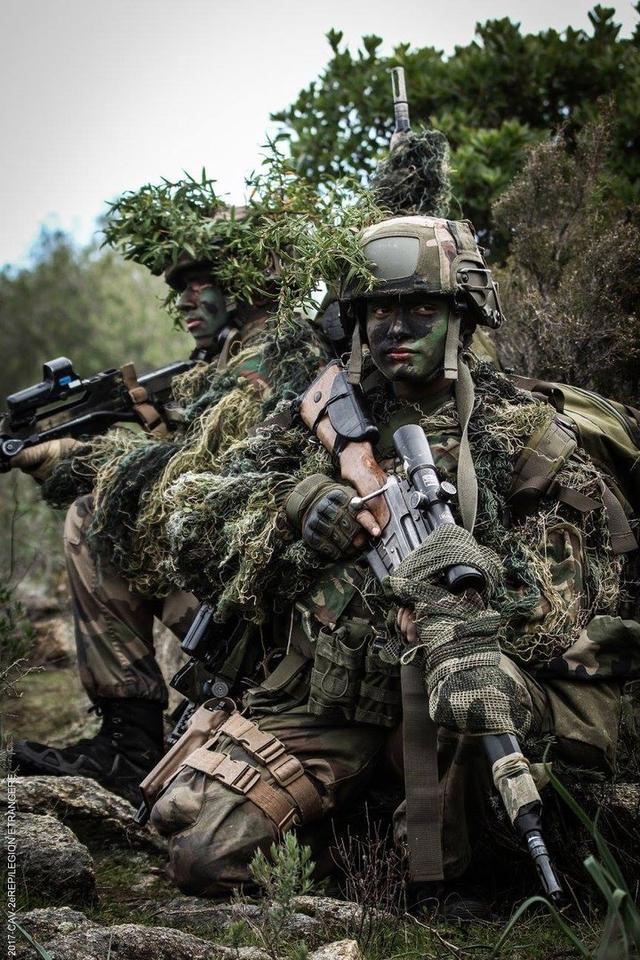 精英中的精英:法國外籍軍團第2傘兵團狙擊手訓練猛照 - 每日頭條