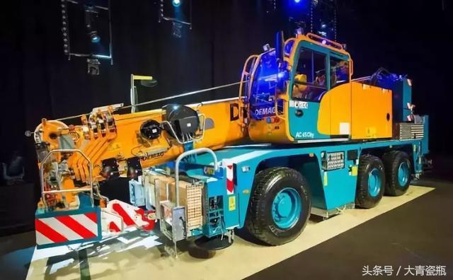 全球最緊湊的45噸起重機——「德馬格AC45」 - 每日頭條