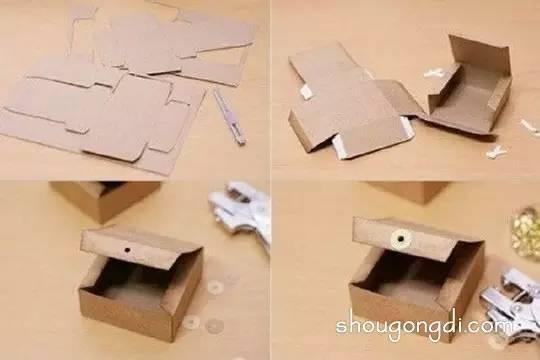 方形禮物盒的摺紙.學會了雙十一用得著 - 每日頭條