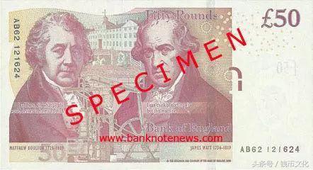 新50英鎊發行,英國進入全額塑料鈔時代~ - 每日頭條